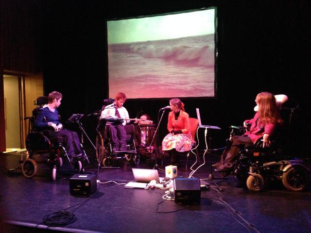 Digital Quartet performing