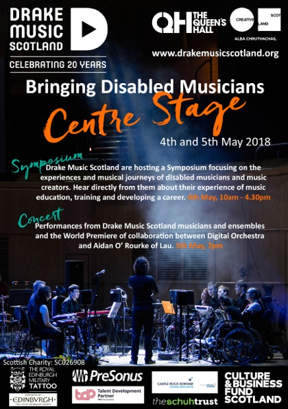 Centre Stage concert flyer