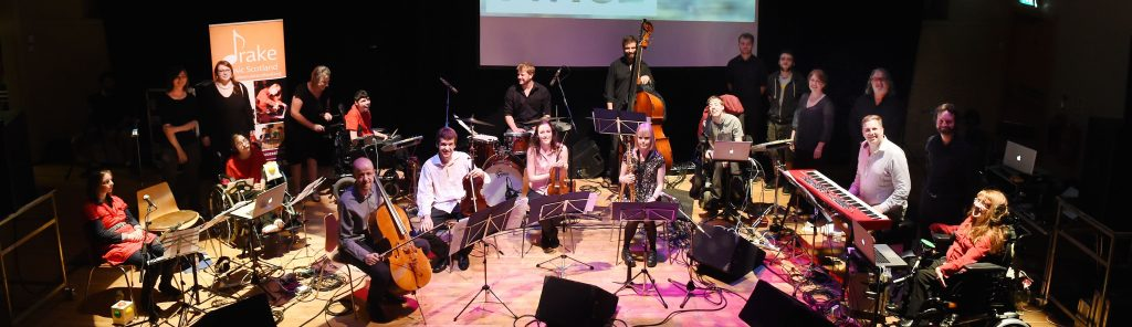 Musicians of Digital Orchestra and National Youth Orchestras of Scotland