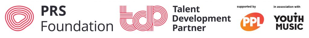 PRSF TDP PPL and Youth Music logo