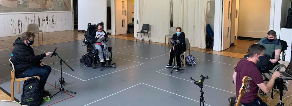 Digital Orchestra rehearsal in space